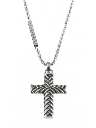 Baldessarini Herren-Halskette Kreuz Y1045N/90/00/55
