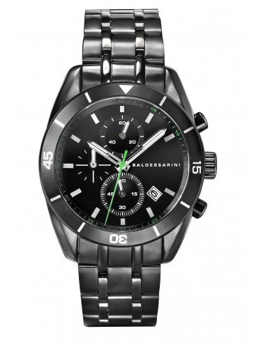 Baldessarini Chronograph Y8047W/20/00 schwarzem Edelstahlband