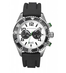 Baldessarini Chronograph Y8036W/20/00 mit schwarzem Kautschukarmband