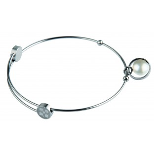 Bangle mit farbiger Perle ERNSTES DESIGN