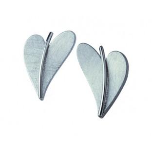 Ohrringe in Herzform ERNSTES DESIGN