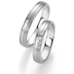 Trauringe in Silber von Saint Maurice 49/9117