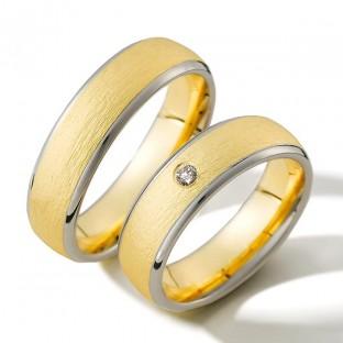 Grau- und Gelbgoldringe von Weidner 04255