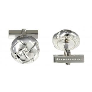 Baldessarini Manschettenknöpfe Y1058C/90/00 rhodiniertes Silber 925, strukturiert