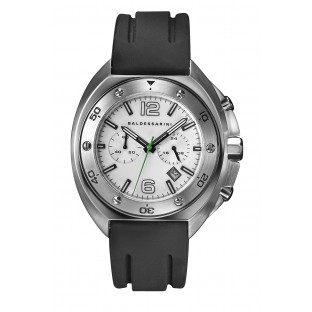 Baldessarini Herren-Armbanduhr als Chronograph Y8054W/20/00 schwarzem Kautschukband