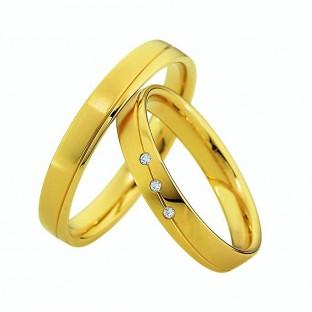 Trauringe Gelbgold von Saint Maurice 49/87030/0