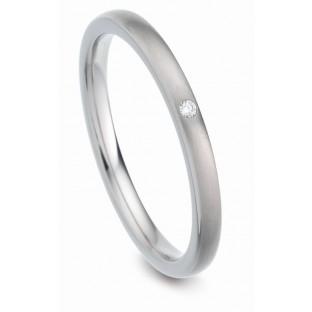 Titanfactory Ring mit 1 Diamanten 52430/001/001/2000